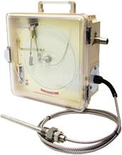 自記温度圧力計 STP-B 175Φ